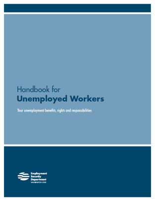 The Handbook for Unemployed Workers explains your rights and responsibilities. If you receive benefits, you are responsible for understanding the information in it.