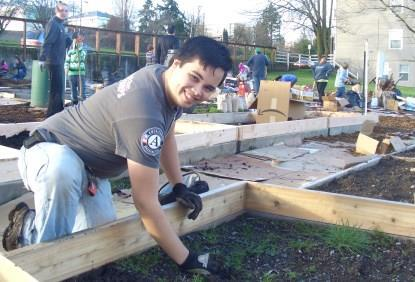 Bucky Collins, Washington Service Corps member with WorkSource Kitsap.