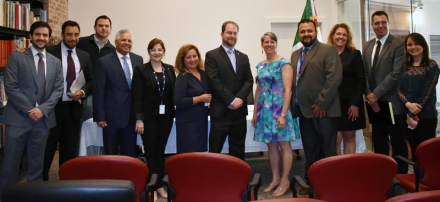 Staff from the Consulate of Mexico in Seattle and from the Washington State Employment Security Department